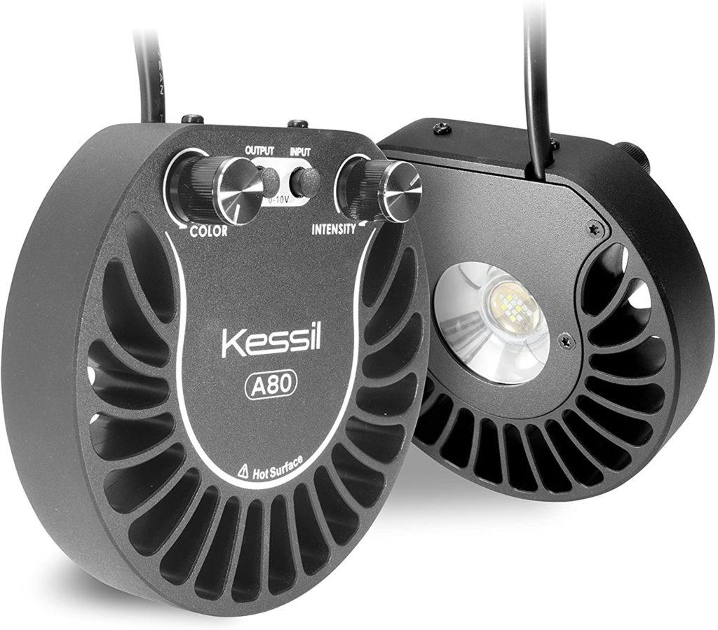 Kessil A80 'Tuna Sun' passive cooling LED light