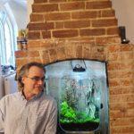 Andy Pierce, host of the Fireplace Aquarium